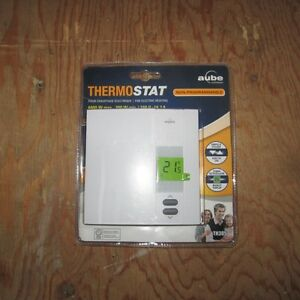 AUBE THERMOSTAT - (TH305) NON-PROGRAMMABLE THERMOSTAT