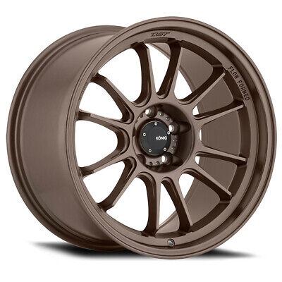 Konig Hypergram 17x9 5x114.3 ET40 Race Bronze (4 Wheels)