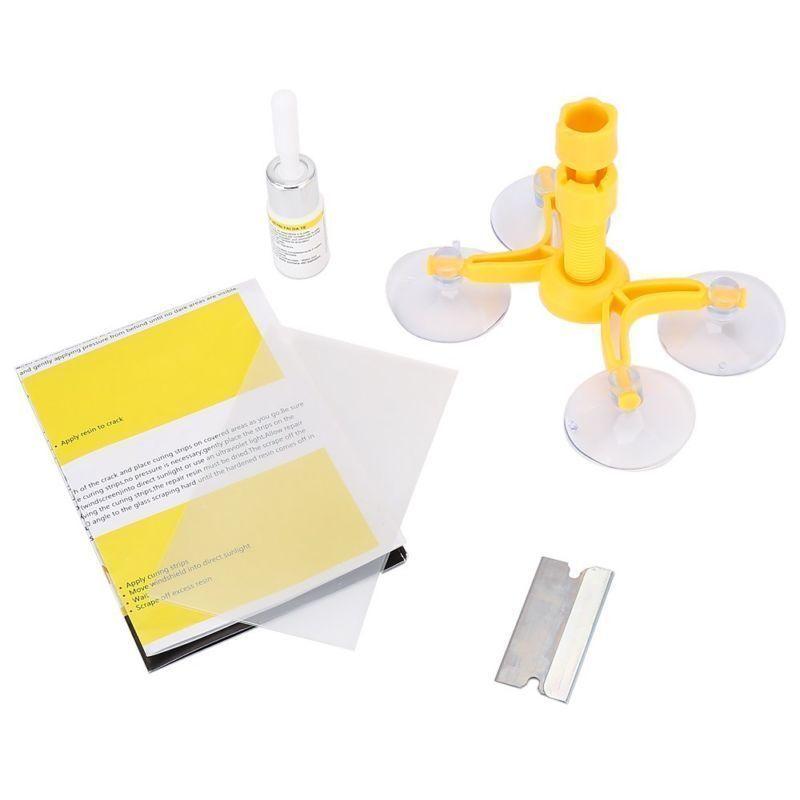Car Windshield Windscreen Glass Scratch Screen Repair Tool Set DIY Kits