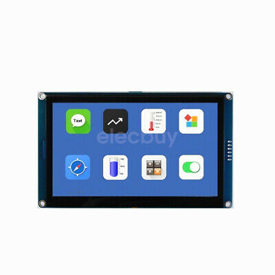 New 5 Inch Hmi I2c Tft Lcd Display Module Capacitive Touch Screen For Arduino