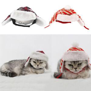 Adjustable-Pet-Puppy-Dog-Cat-Cute-Santa-Hat-Soft-Warm-Velvet-Christmas-Hats-Cap