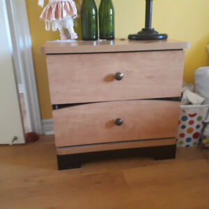 Selling bedroom furniture (dresser, side table and armoire)