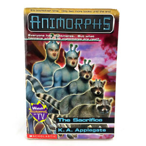Animorphs Book 52 The Sacrifice Scholastic First Edition 2001