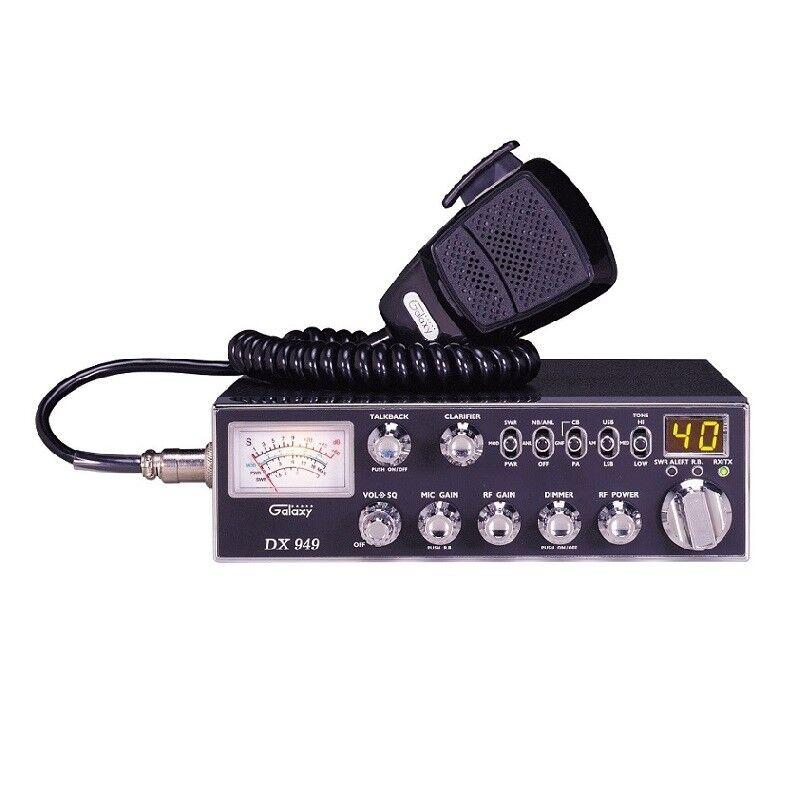 GALAXY DX949 40 CHANNEL AM/SSB CB RADIO – WITH AUTOMATIC S