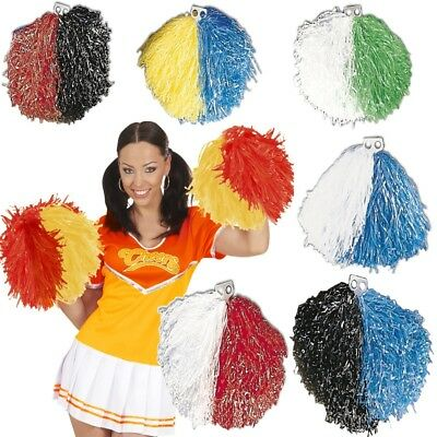 Pompon POM POM Cheerleader Cheerleading 8 Farben (Cheerleading Poms)
