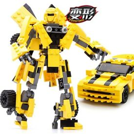 """LEGO"" ""Bumblebee"" ""Transformers"" Building Blocks"