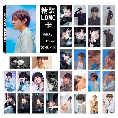 Kpop Bts Lomo Card Bangtan Boys Fake Love Photocard Suga Jimin Bts Accesssories