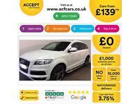 Audi Q7 FROM £139 PER WEEK!