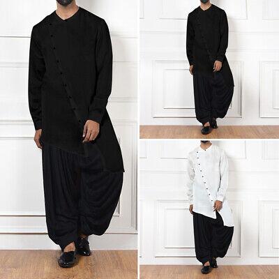 mens islamic clothing casual button shirt kurta
