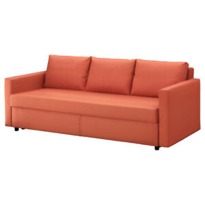 Nearly new Ikea sofa bed with storage