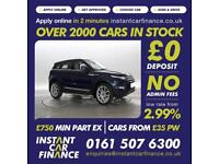 Land Rover Range Rover Evoque 2.2SD4 auto 2012MY Prestige LUX CAR FINANCE