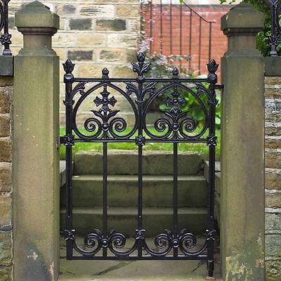 Terrace Garden Gate Cast Iron Heritage Cast Iron Gates & Railing Easy Gate Fit