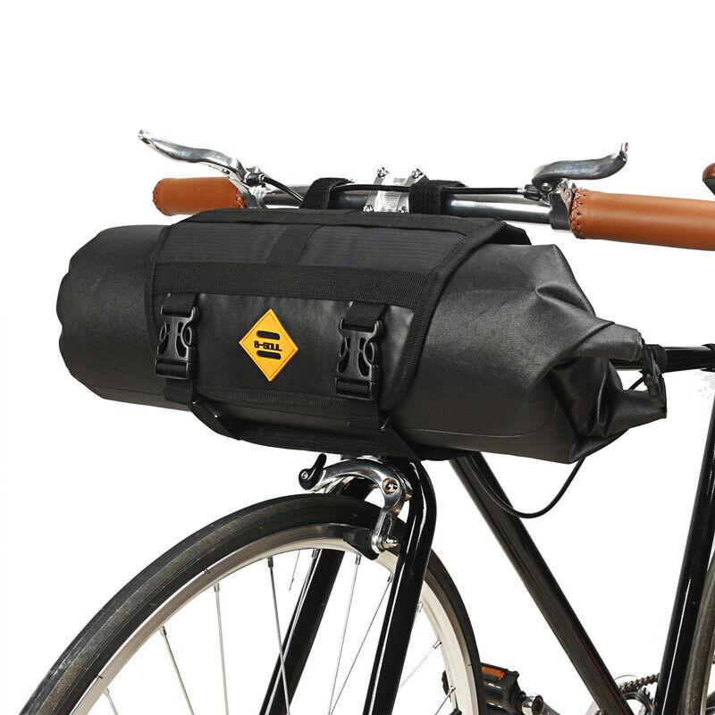 Waterproof bike Bicycle Roll handlebar bag Bicycle Cycling F