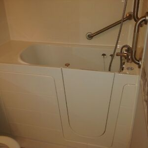 Seabridge Classic walk in tub with air massage system
