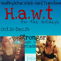 Free Health & Fitness Challenge- H.A.W.T for the Holidays