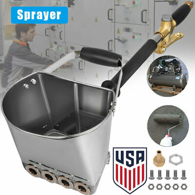 High-quality Concrete Cement Mortar Sprayer Hopper 4 Jet Wall Painting Tool Us