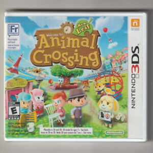 New In Box Nintendo 3DS ANIMAL CROSSING NEW LEAF Game SEALED