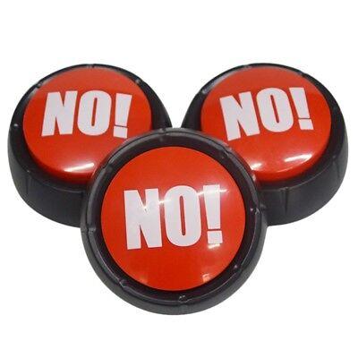 No  No Sound Button Music Box Novelty Gag Toy Event Party Supplies Decor Us
