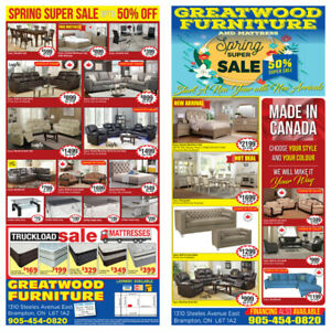 SPRING SALE !! BRAND NEW FURNITURE UPTO 70% OFF ....