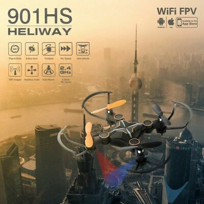Quadcopter Drone 1080P HD With WIFI FPV Camera Altitude Hold Foldable Sets Gift