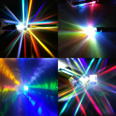 Usa Laser Beam Combine Cube Prism Mirror For 405nm 450nm Blue Laser Diode Rgb