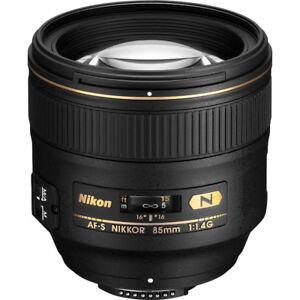 Nikkor 85mm af-s 1.4g lens