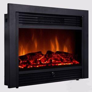 Electric Fireplace Log Inserts eBay