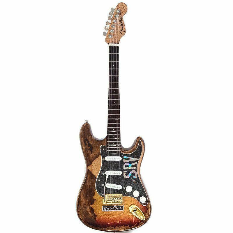 Axe Heaven Stevie Ray Vaughan Mini Miniature Guitar SRV Gift Replica SRV-040