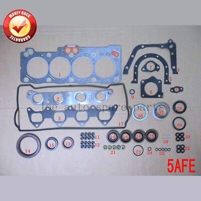 5A 5AFE Engine complete Full gasket set kit for Toyota Corolla/Soluna vios/Sprin