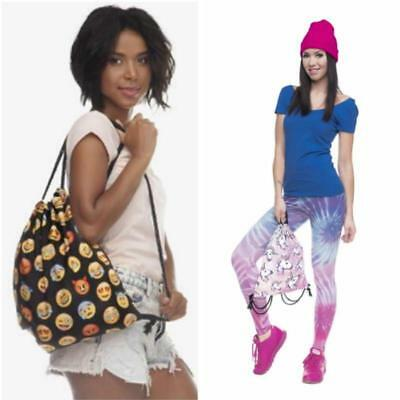 Gym Tote Bag (Unicorn Drawstring Tote String Bags Travel PE Gym School Laundry Backpack NEW LH)