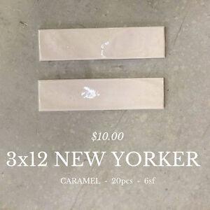 3x12 NEW YORKER CARAMEL