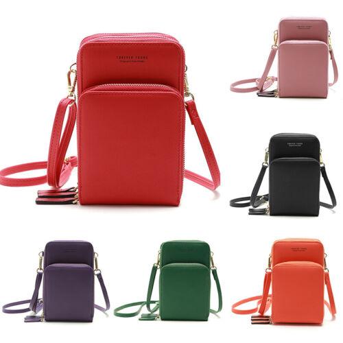 Handy Umhängetasche Mode Damen Schultertasche Leder Handtasche Kleine Tasche Bag