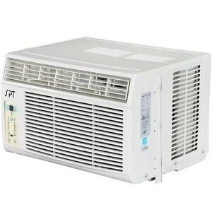 8000 btu window air conditioner a c 350 sq ft small ac unit w energy star. Black Bedroom Furniture Sets. Home Design Ideas