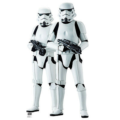STORMTROOPERS Rogue One Star Wars Lifesize CARDBOARD CUTOUT Standup Standee F/S](Star Wars Cutouts)