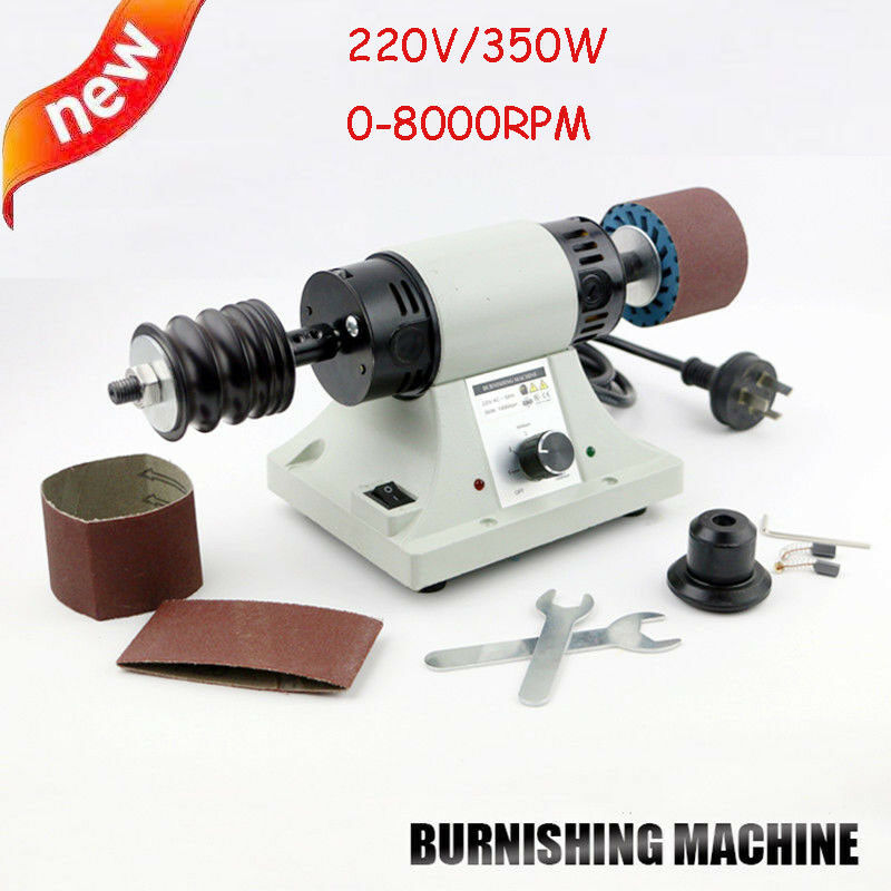 Leather Polishing Burnishing Machine Leather Edge Grinding Machine 8000rpm 220V