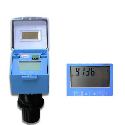 Integrated Ultrasonic Water Tank Level Gauge Meter Liquid Level Sensor 4-20ma