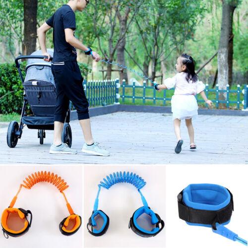 Baby 2.5M Anti Lost Band Kinder Sicherheitsgurt Strap Handgelenk Leine Walk Link