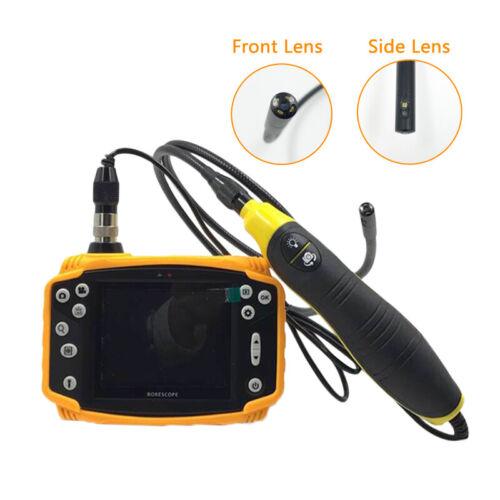 """Vividia BD-9090 Dual-Camera Borescope Inspection Camera 9mm Diameter 3.5"""" Screen"""