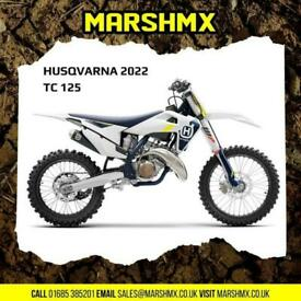 Husqvarna TC 125 2022 Model Uk Bike - Nil Deposit Finance Available