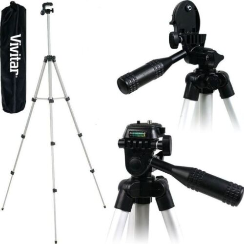 Vivitar 50'' VIV-VPT-1250 Tripod with Bubble Level for all C