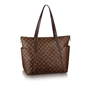 Authentic LOUIS VUITTON Totally MM Damier Tote & MATCHING WALLET