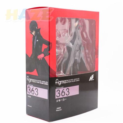 "Figma 363 persona 5 shujinkou /& morgana action figurine joker 6 /""plm doll"