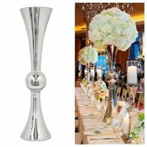 Silver reversable trumpet vase