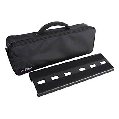 On-Stage Stands GPB2000 Compact Pedal Board With Gig Bag