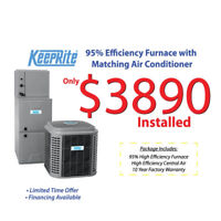 Pre summer Air conditioner sale starting @ $1999.00 installed