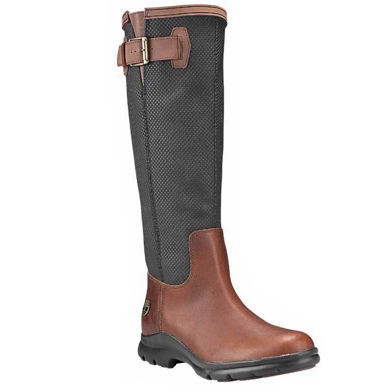 Women's Timberland Turain Tall Waterproof Boots Brown A1KCR