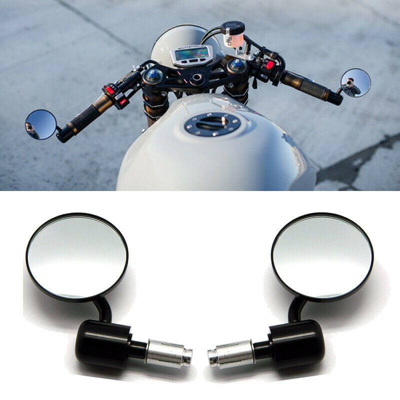 Circle Motorcycles Rear View Mirrors E-Bike Back Side Mirror For Honda Kawasaki Suzuki Yamaha