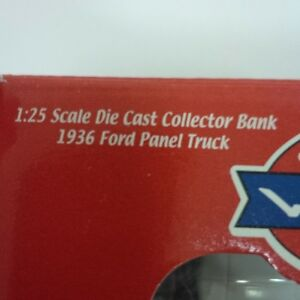 1936 Ford Panel Truck - Die Cast - Collector Bank Kitchener / Waterloo Kitchener Area image 2