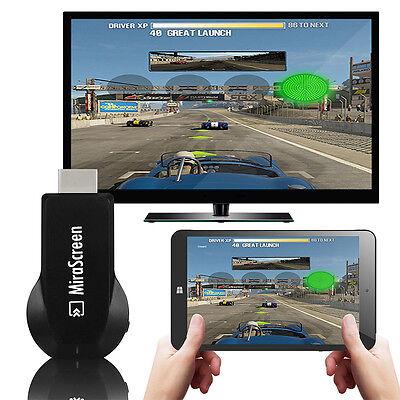 1080P Wireless Miracast Smart Phone Screen 2 HDMI TV Dongle Mirror Media Display
