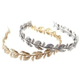***Leaf Hair Band GOLD or SILVER***